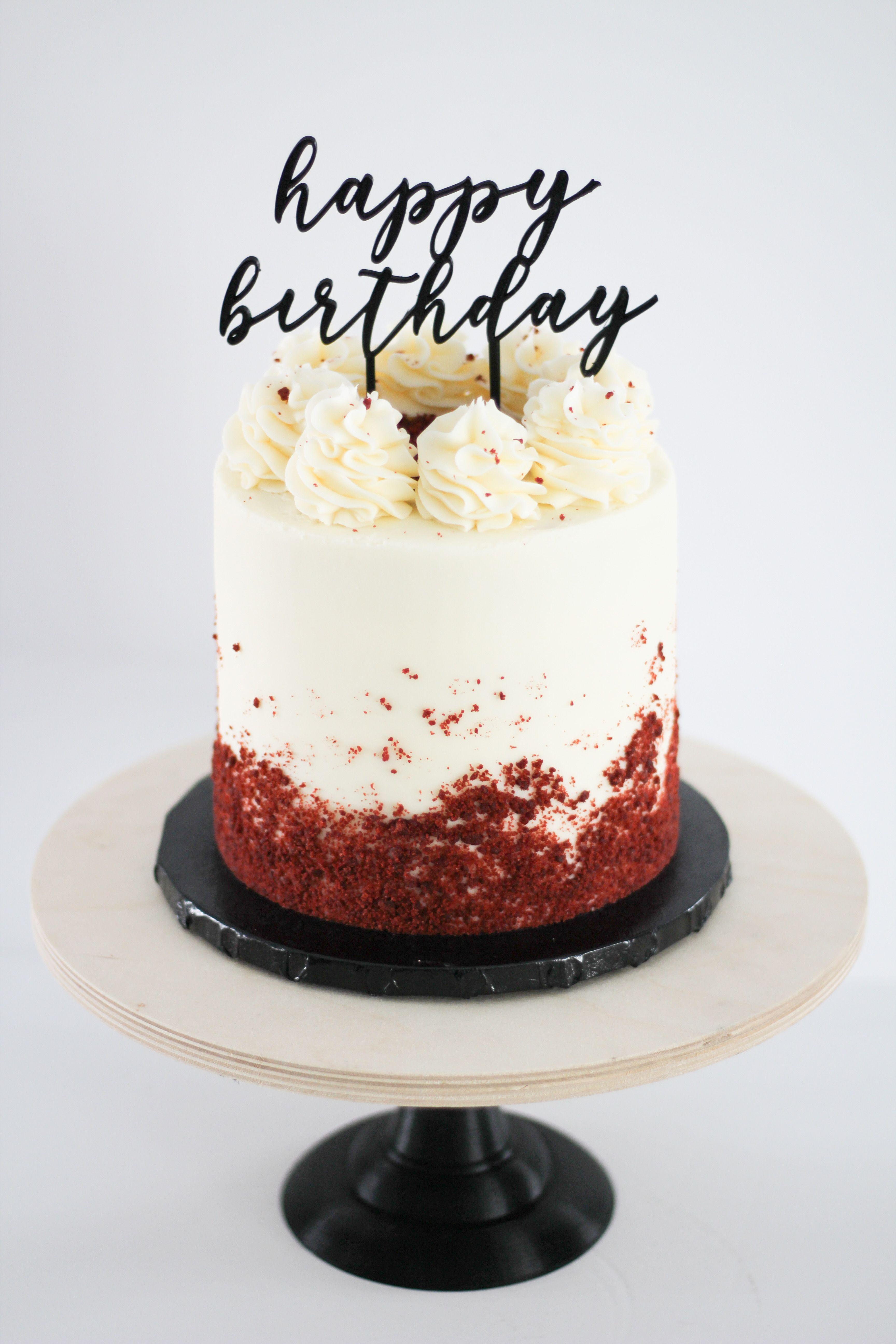 Red Velvet Cake Red Velvet Birthday Cake Best Birthday Cake Designs Red Velvet Cake Decoration