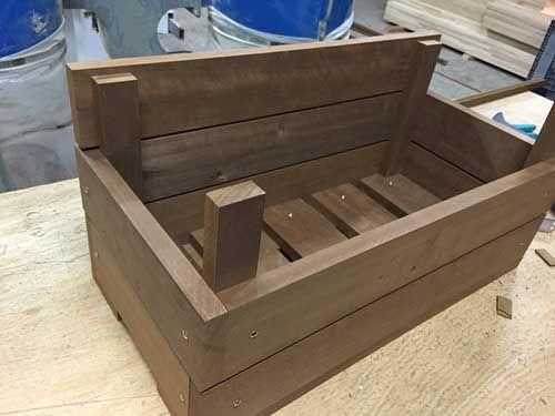 fabriquer une jardinire en bois 8 - Fabriquer Une Jardiniere En Bois