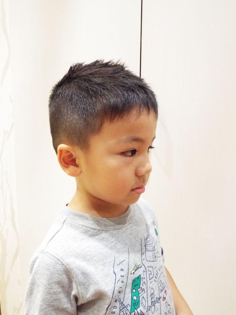 ☆短ソフモヒ☆|スタイルギャラリー|こども専門美容室