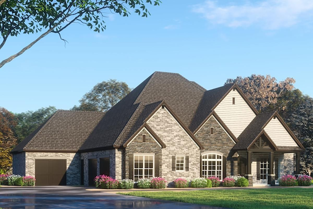 House Plan 8318 00092 French Country Plan 4 761 Square Feet 4 Bedrooms 5 Bathrooms French Country House Plans Luxury House Plans House Plans