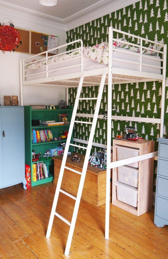 Raise the roof kids loft bed inspiration childrens - Raising a child in a one bedroom apartment ...