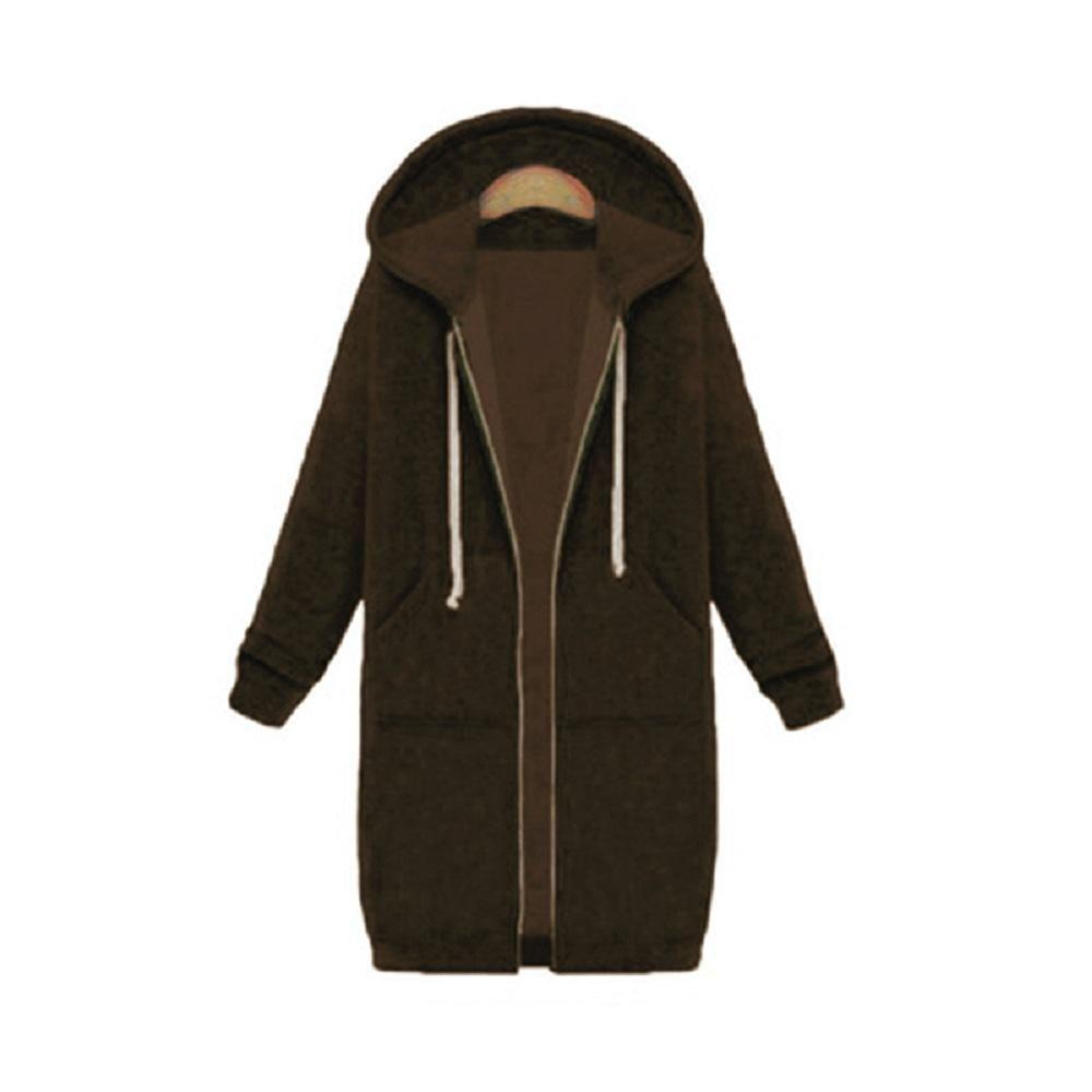 2d49f7aa1 AZULINA Plus Size Oversized Hoodies Sweatshirt 2018 Autumn Women ...