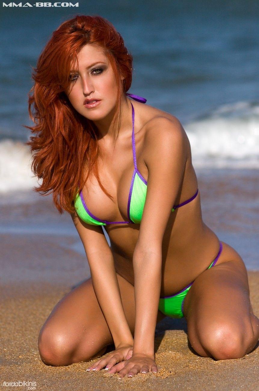 Natural nude redhead tiny tits