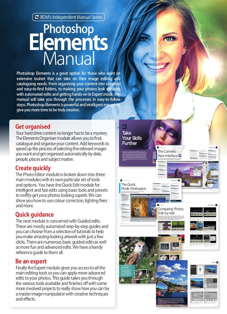 Photoshop Elements Manual Vol 19   Tech Guides and