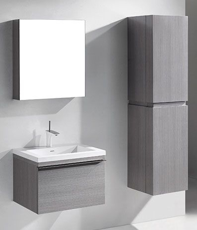 Functional Elegance Bathroom Furniture Modern Vanity Wall Hung Vanity