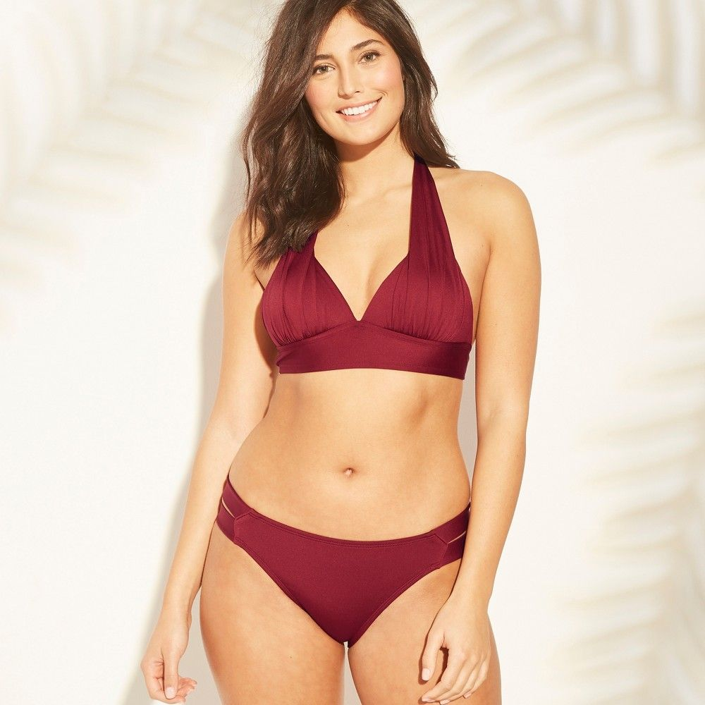 c1a703d97a6 For a versatile piece that can pair with a variety of swim bottoms in your  collection turn to the Halter Bikini Top from Kona Sol.