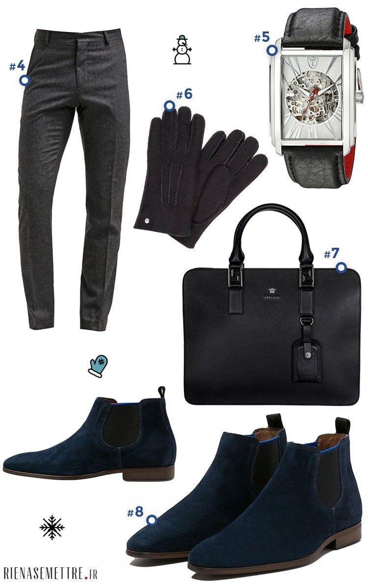26f0848379c30 Look pour Homme spécial Business - Sacoche porte document cravate,  chaussures de ville homme - Mode 2016