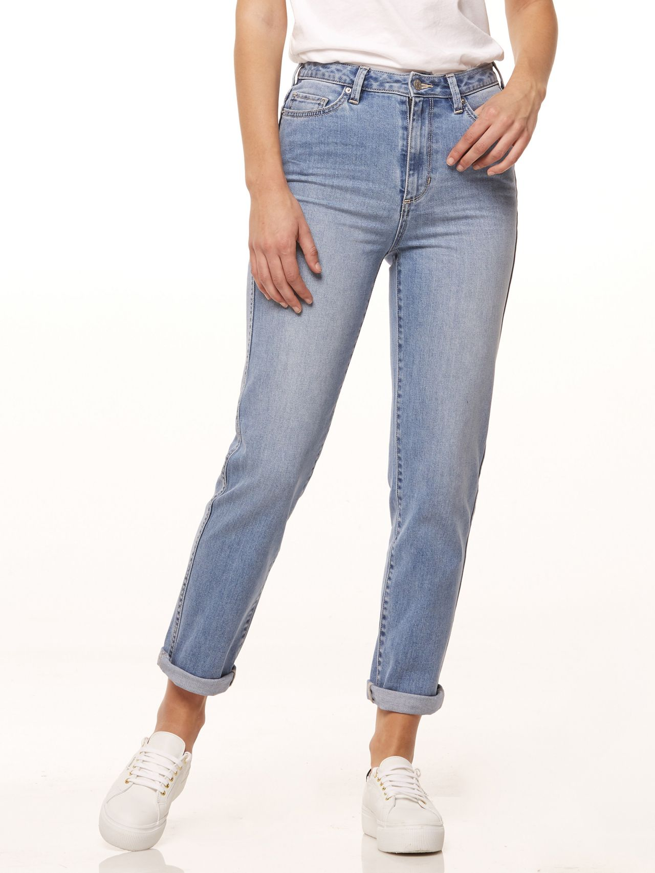 57c485a2 Riders By Lee Hi Mom Jean Blue Sands Denim - Just Jeans Online ...