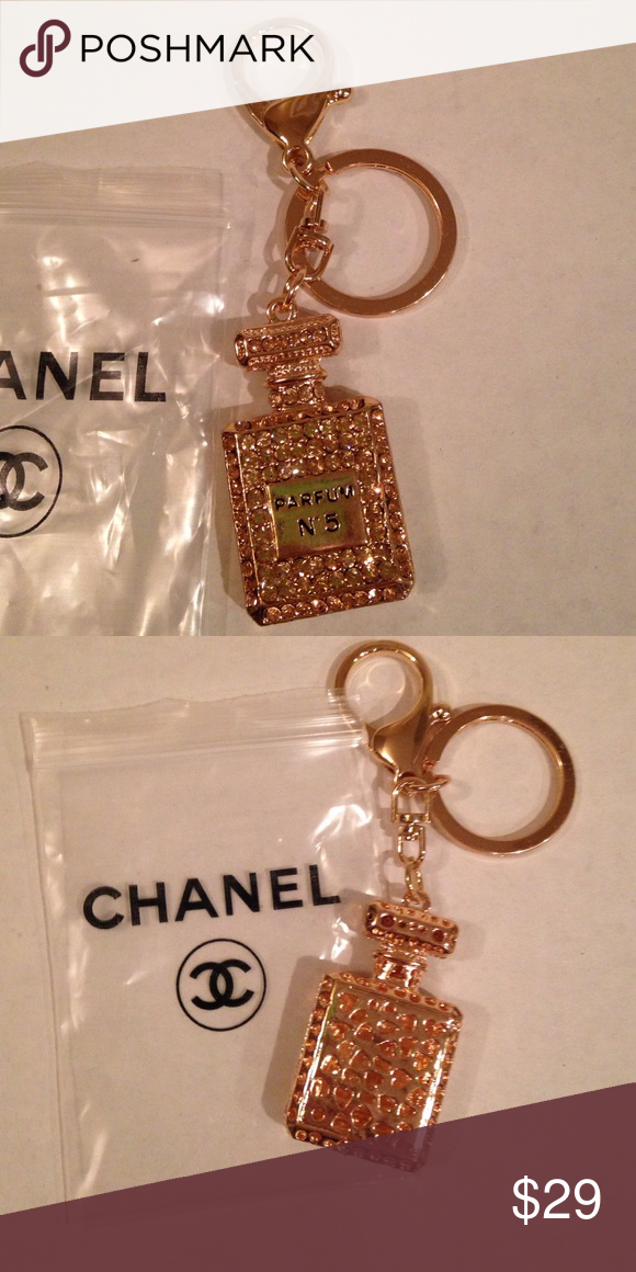 Chanel Keychain Bag Charm New With Baggie Really Cute Keychain Or