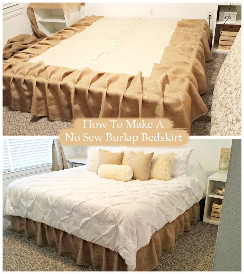 What Is A Bed Skirt.Here Is My Simple Tutorial On How To Make A Diy No Sew