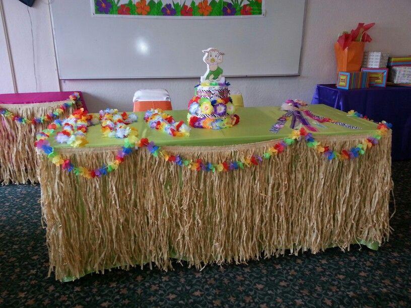 luau babyshower baby shower gift party ideas pinterest
