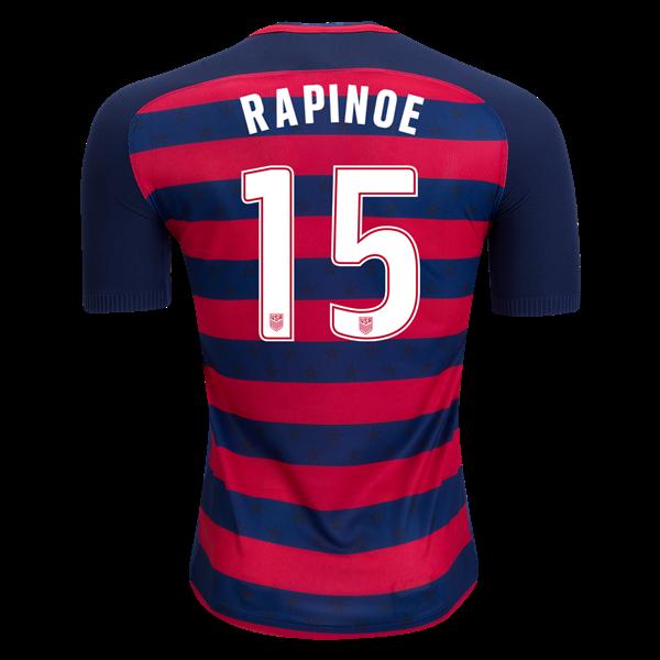 online store ddbbc 43b17 2017 Megan Rapinoe Men's Soccer Jersey USA Gold Cup   Megan ...