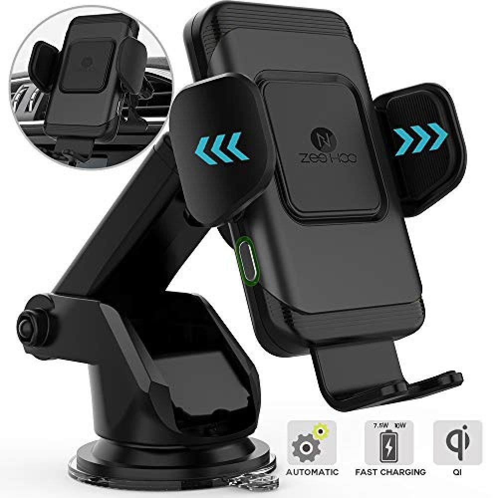 Qi Wireless Car Charger Automatic Induction Car Mount and Air Vent Holder