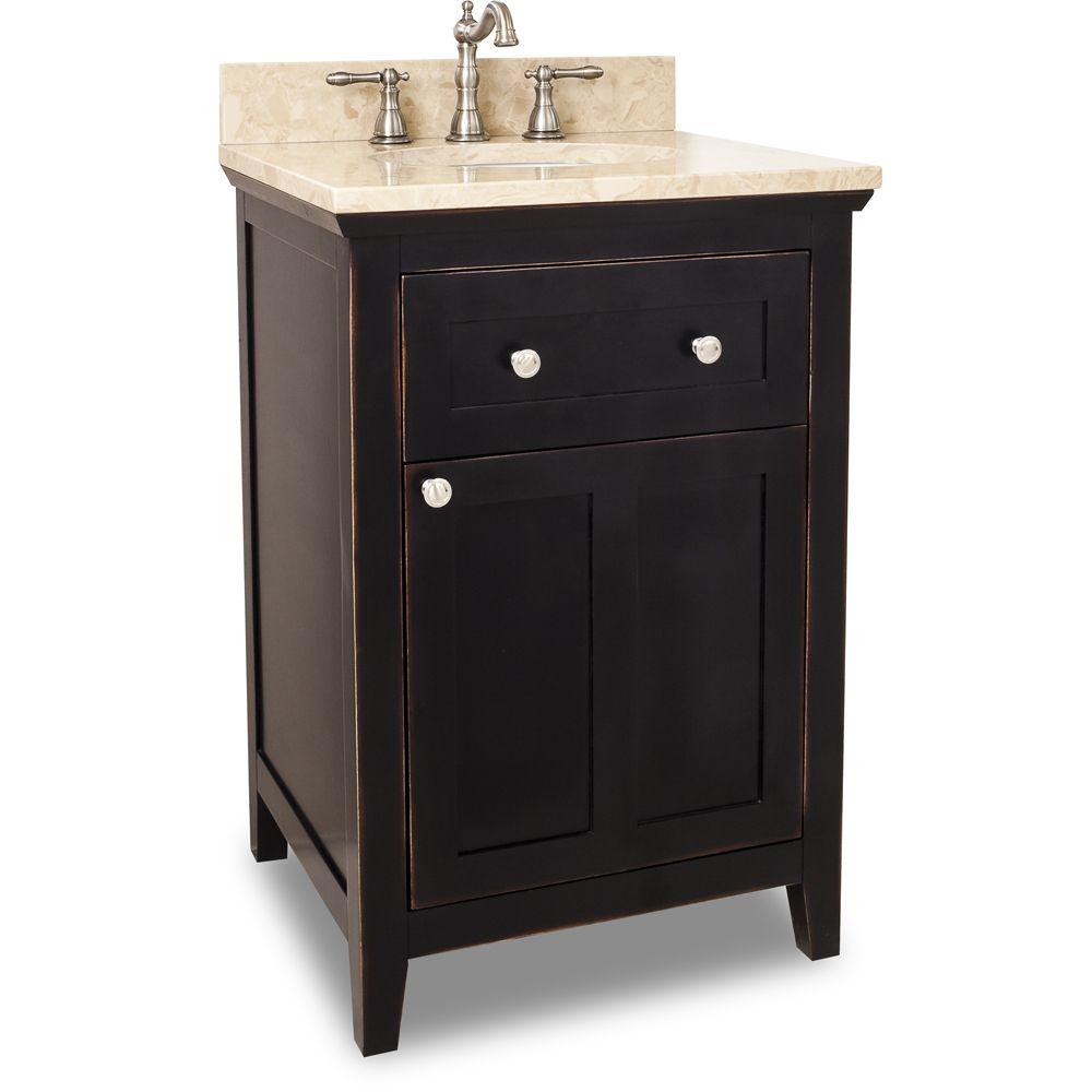 Single Sink 30 Inch Bathroom Vanity Black Vanity Bathroom Modern Bathroom Vanity [ 1000 x 1000 Pixel ]