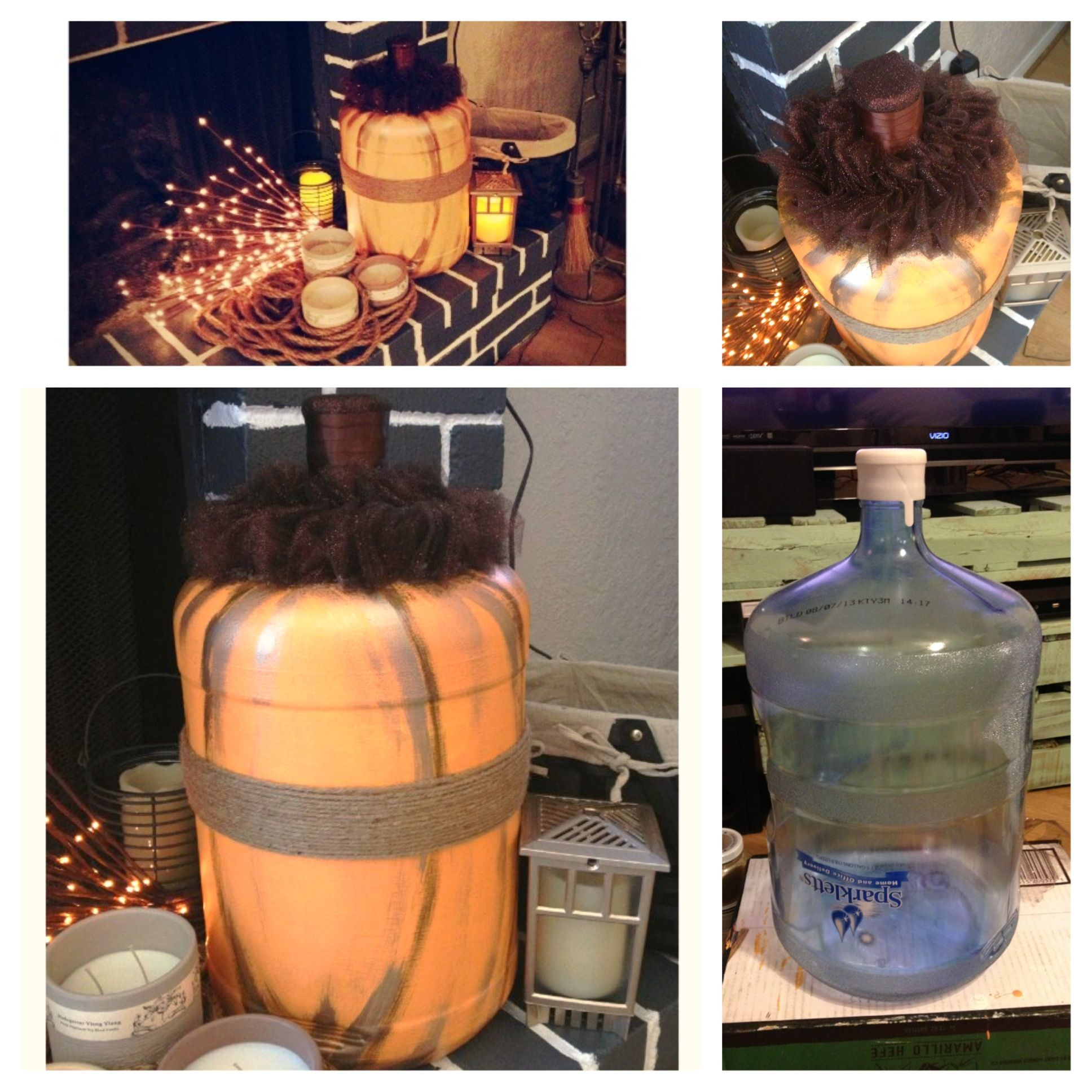 Pin By Katie Gray On Crafts To Try Fall Decor Diy Gallon Water