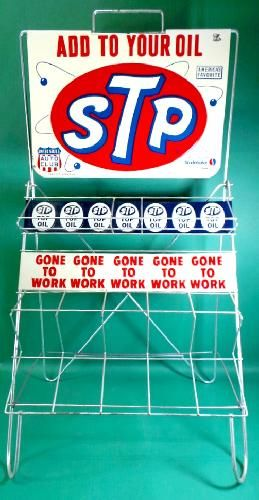 Vintage Automotive STP Oil Rack | Gas Station | Vintage, Oil
