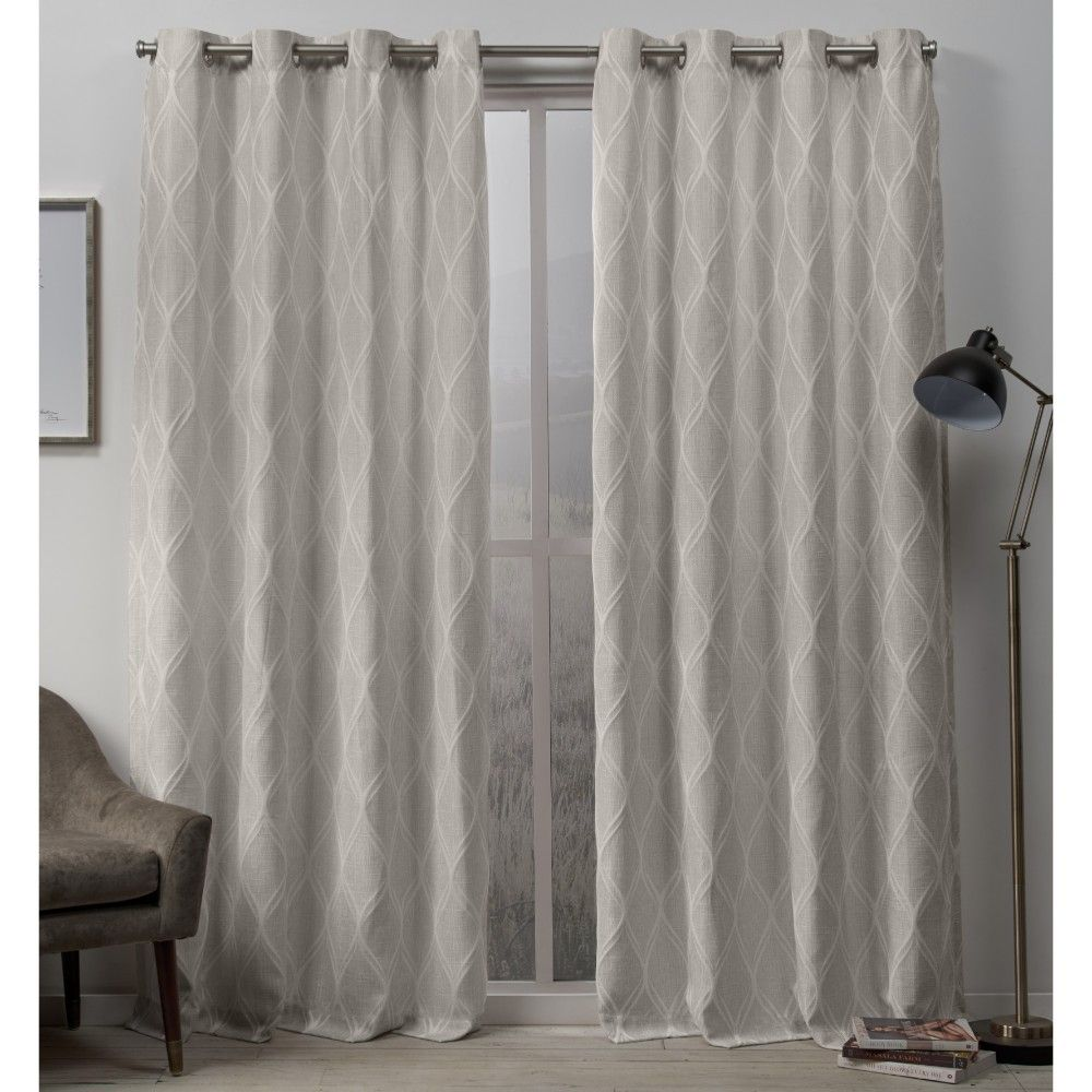 Küchenideen entlang einer wand curtain panels exclusive home linen geometric in   products