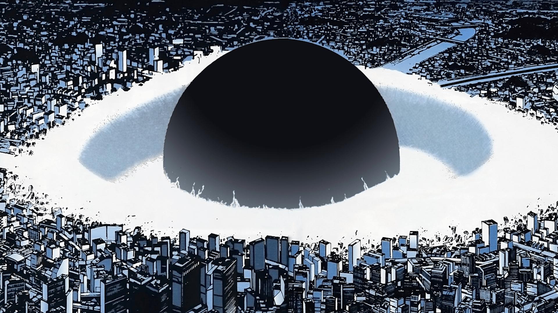 [1920x1080] Akira Explosion HD Wallpaper Art ludique