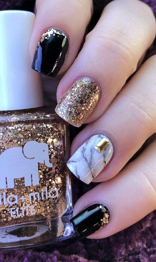 55 Beautiful Nail Art Brilliant Colors Ideas Nails C Creative Designs Gel