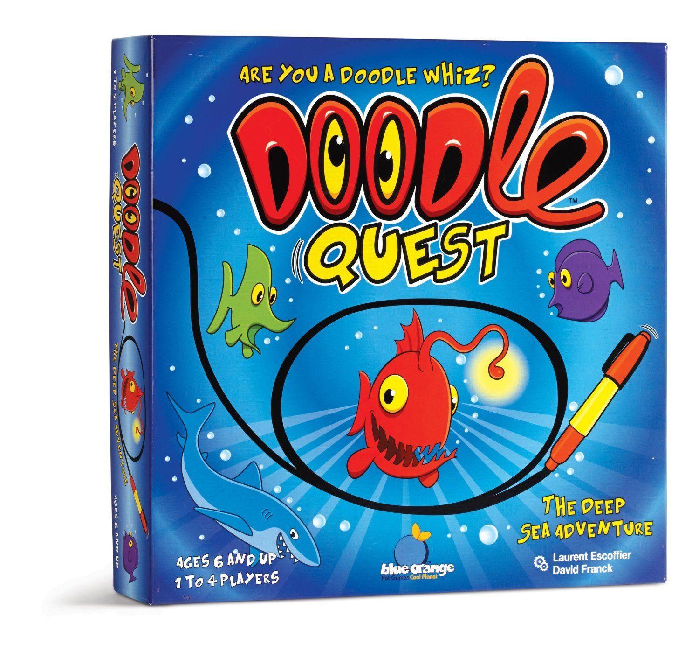 Doodle quest orange games games for kids doodles