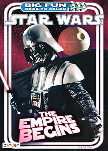 Amazon Com Star Wars Big Fun Book To Color The Empire Begins Toys Games Star Wars Empire Star Wars Toys Star Wars