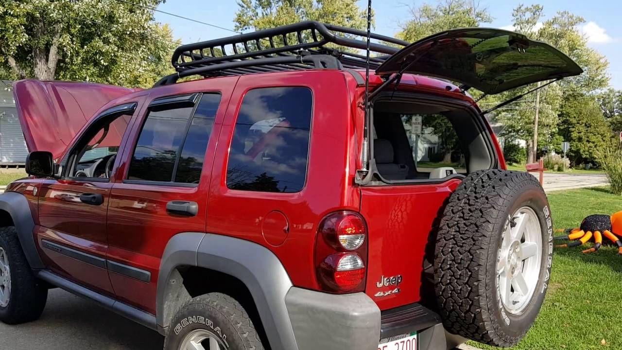 Jeep Liberty Uniden 880 Cb Firestik Antenna Mk 204r Mount Jeep