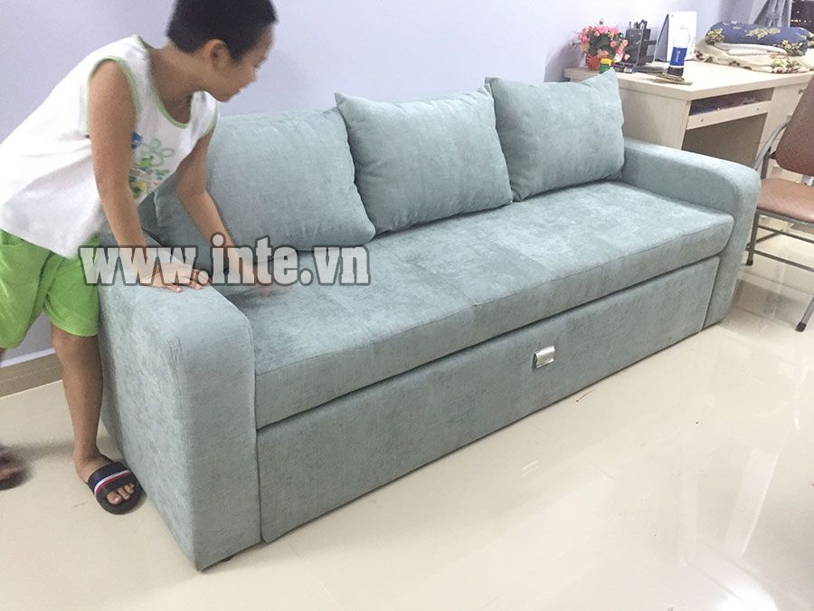 Ghế Sofa Giường Xếp Gọn Giải Phap Cho Nha Chật Mẫu Ghế Sofa đa