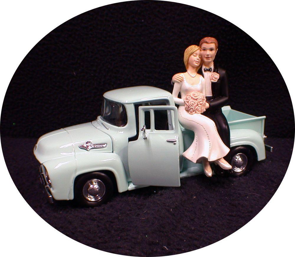 Wedding Cake Topper Construction Worker Road Crew Highway Work Themed Grooms Top