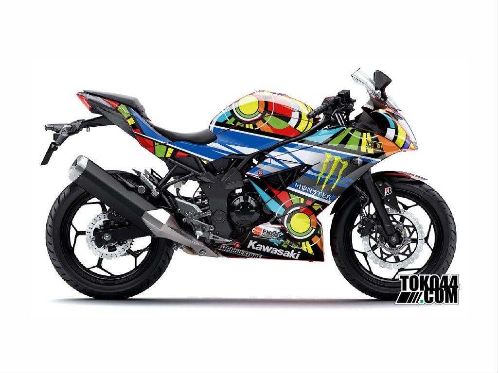 Jual Knalpot Kawasaki Ninja 250 RR Mono- Jual Knalpot Racing