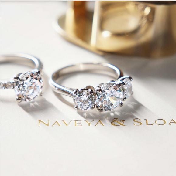 Engagement Rings Auckland: The Avior Setting. Naveya & Sloane Engagement Ring, Made