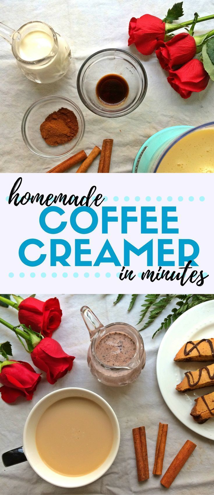 Ever wondered how to make homemade coffee creamer? It's so