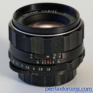 Super-Takumar 55mm f1 8  A fantastic lens that I haven't