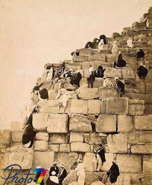 الأهرامات عام 1910 Old Egypt Old Pictures Egypt