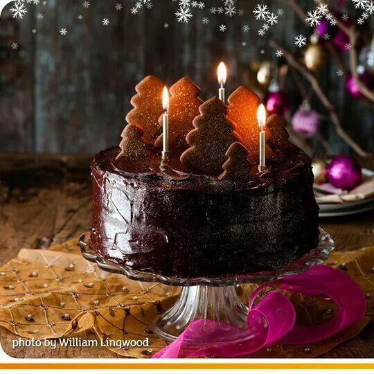 Cholate fudge cake! Yum yum