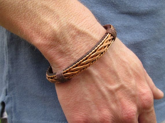 Copper Bracelet And Leather By Coletaylordesigns 35 00