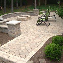 concrete patio shapes and designs | 13 kidney shape cleveland ... - Patio Shape Ideas