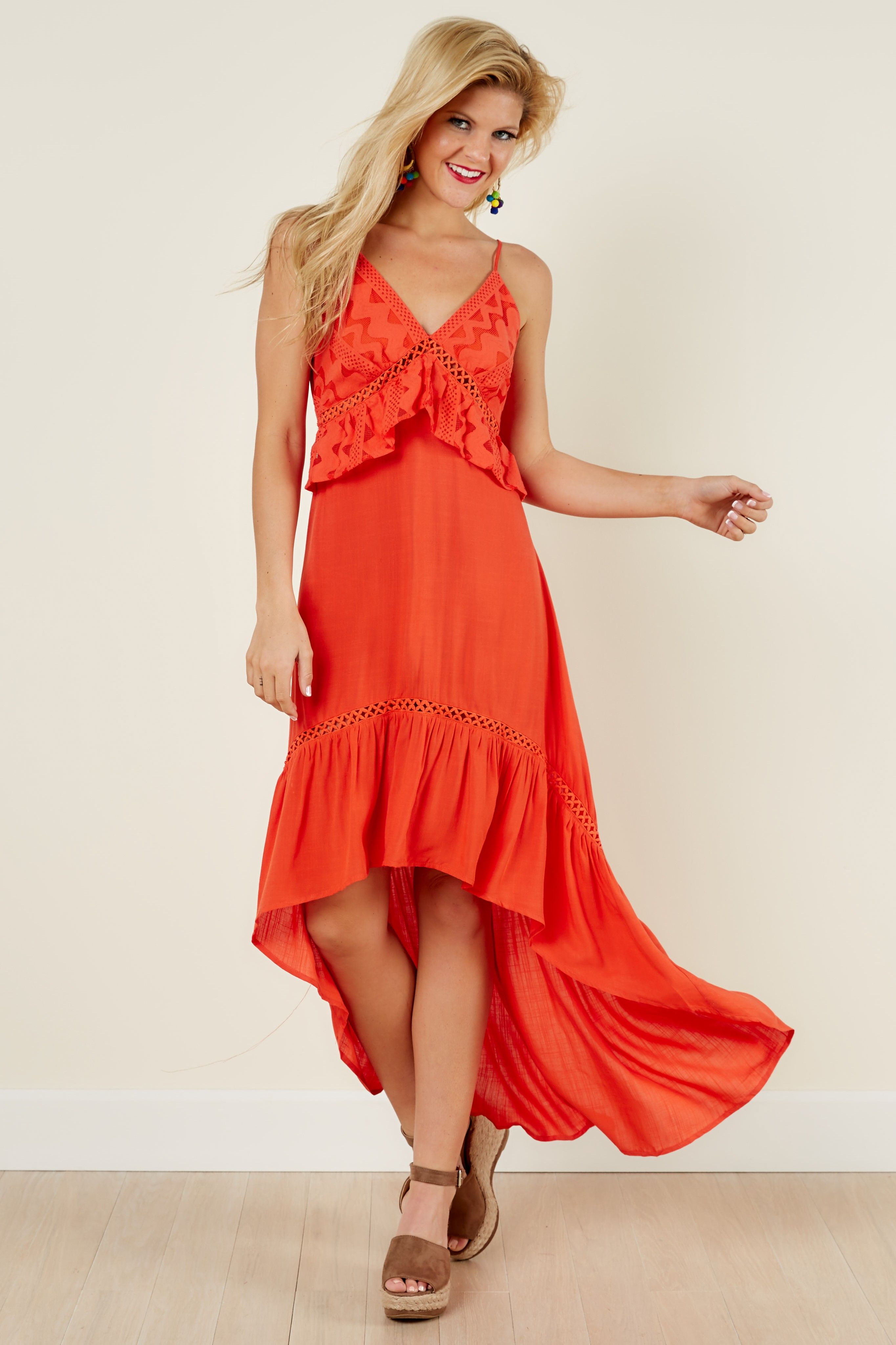 Such a cute summer dress adore the color and style never enough