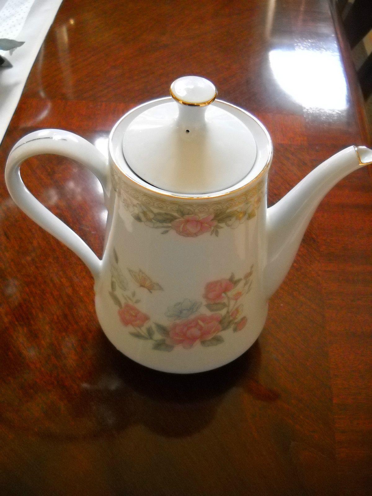 Fairfield Fine China Tea Coffee Pot Symphony Pattern