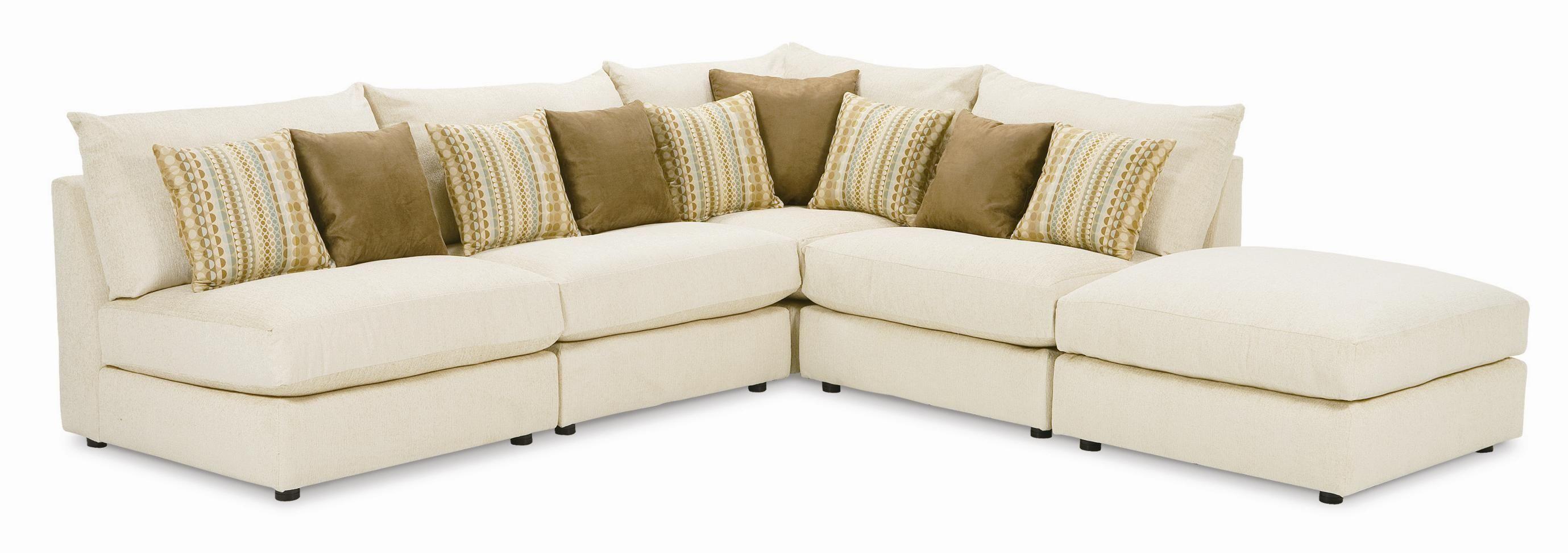 Armless Sectional Sofa Pieces
