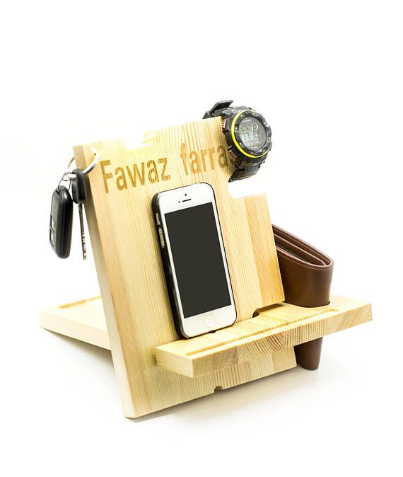 6c01120b271 Personalized iPad Dock,iPhone Dock,Birthday Gifts For Boyfriend,Gift For  Him,