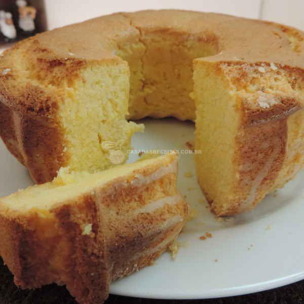 Bolo De Fuba Sem Ovo Receita Bolos Doces Food Cake Recipes