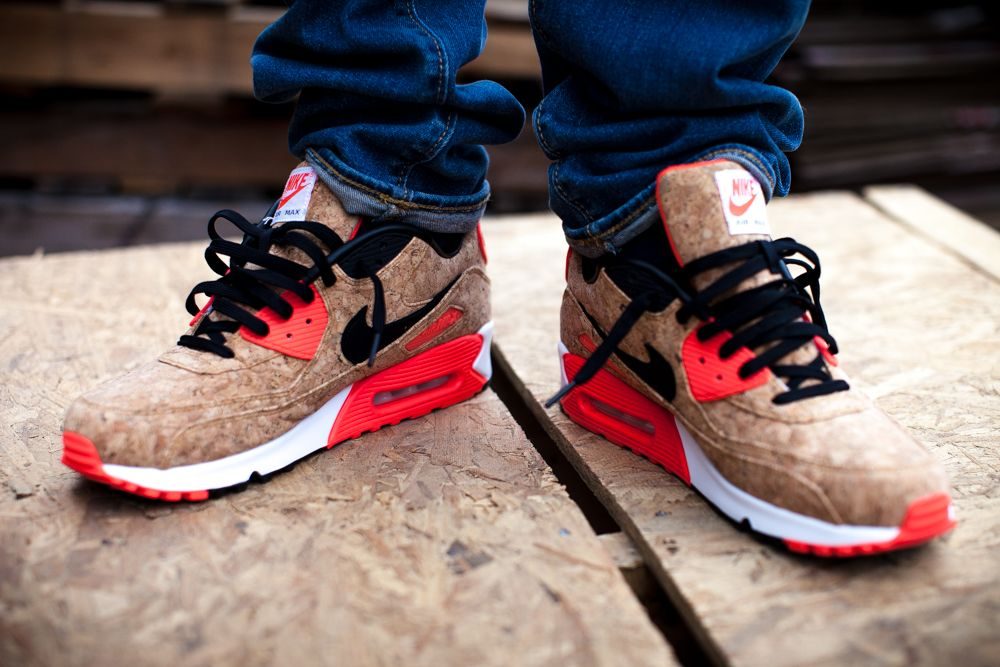 48dbec512c ... purchase nike air max 90 25th anniversary cork the hundreds 71fc8 63c11