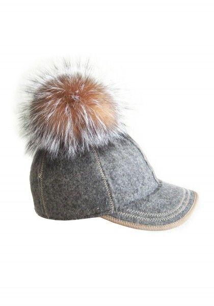 Lola Hats Thumper Wool Baseball Hat With Pom Pom - best winter hat idea  ever ) c6eb9d4bf99
