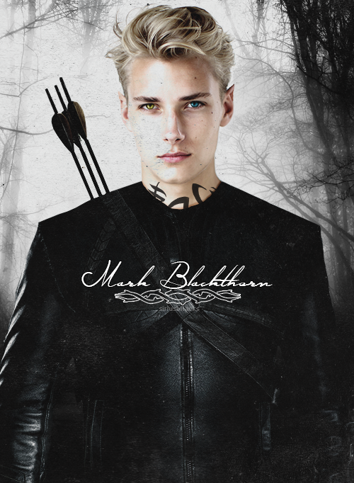 Mark Blackthorn from Cassandra Clare's books, City of Heavenly Fire and upcoming Dark Artifices Series.<< this is perfect.: