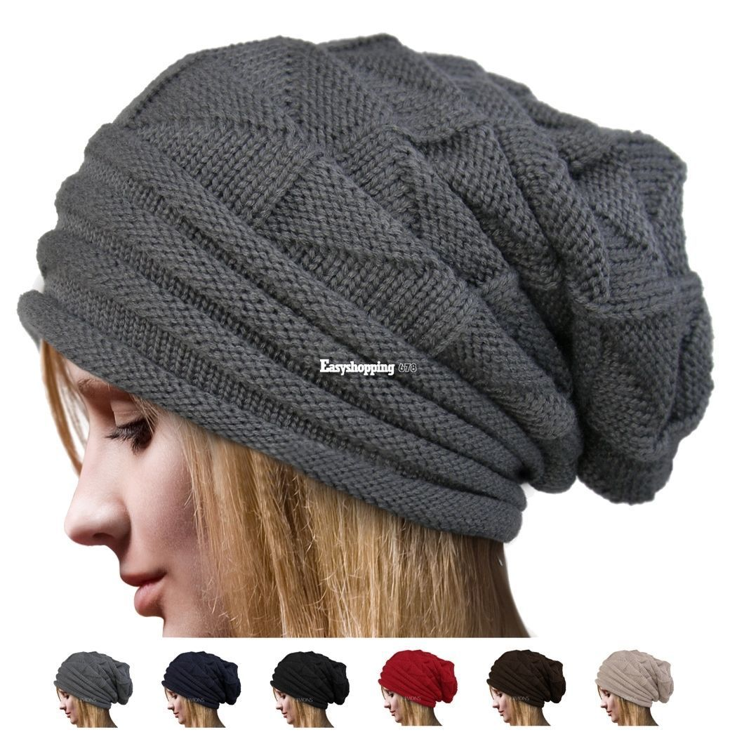 9f67df38e8d Men S Women Beanie Knit Ski Cap Hip-Hop Winter Warm Unisex Wool Hat Es9P