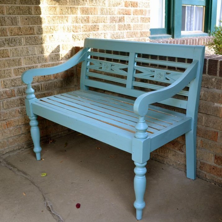 Marvelous Painted Bench Ideas Part - 2: Painted Wooden Benches 15 Design Images With Painted Wood Bench Ideas