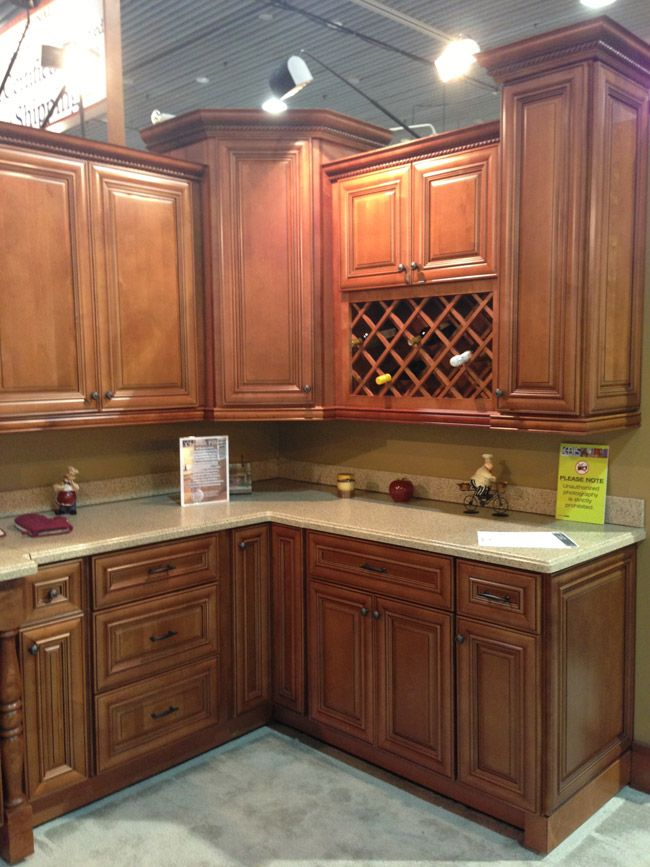 Chestnut Cabinets Love This Color Of Cabinets Kitchen Colors Kitchen Cabinet Colors Kitchen Cabinet Kings