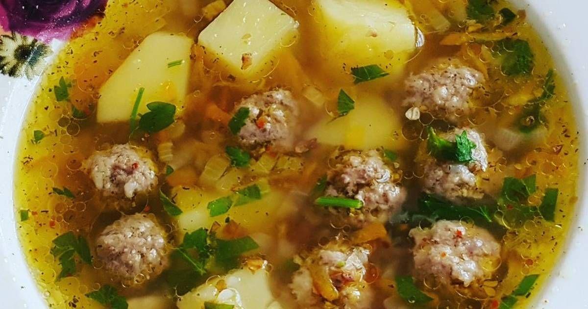Суп гречневый с фрикадельками | Рецепт в 2020 г. | Рецепты ...