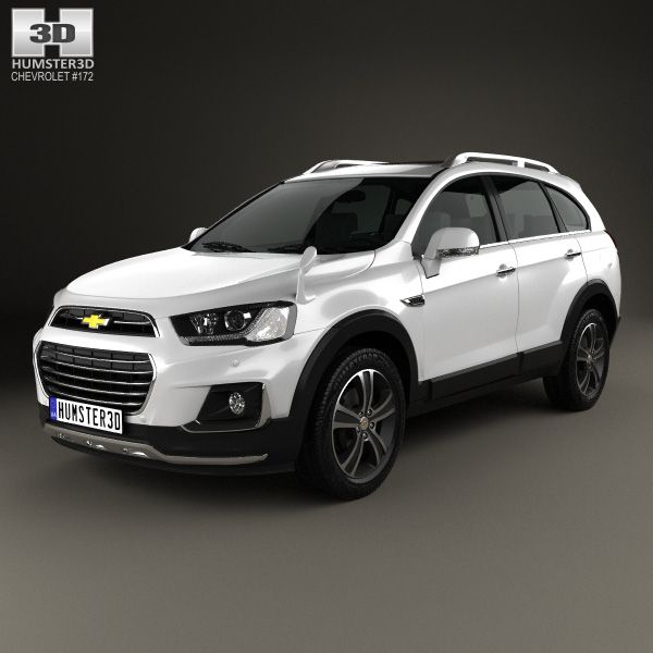 3d Model Of Chevrolet Captiva Jp 2015 In 2020 Chevrolet Captiva Chevrolet Chevy Crossover