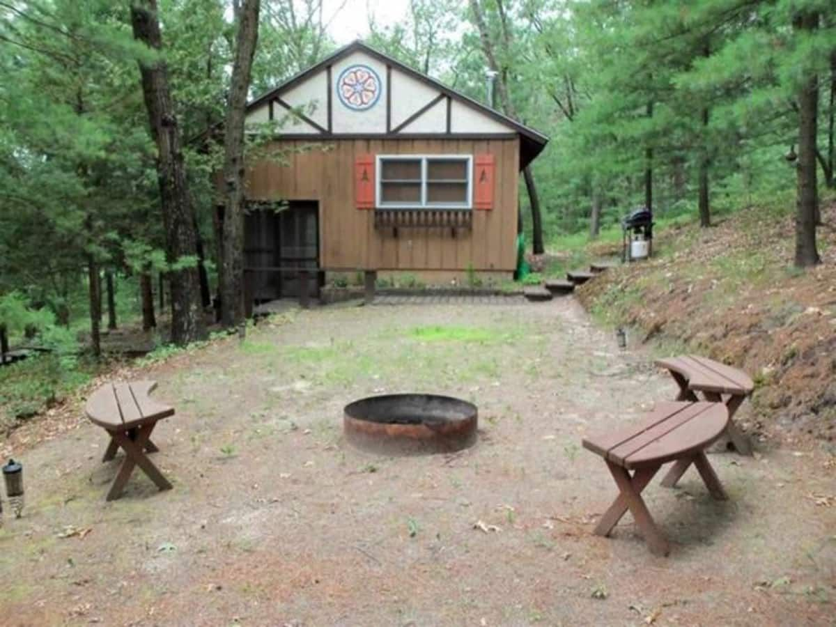 Alpine style cottage tiny house for sale in mauston